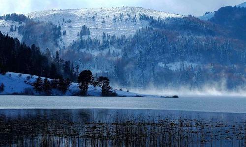 Abant Gölü (Bolu) Kış Manzarası