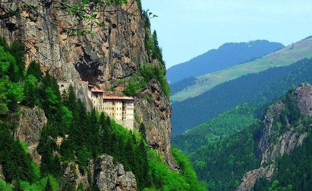 Sümela Manastırı Manzarası
