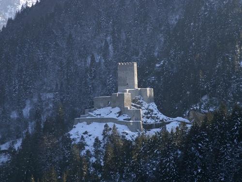 zil kale (Çamlıhemşin) Kış Manzarası