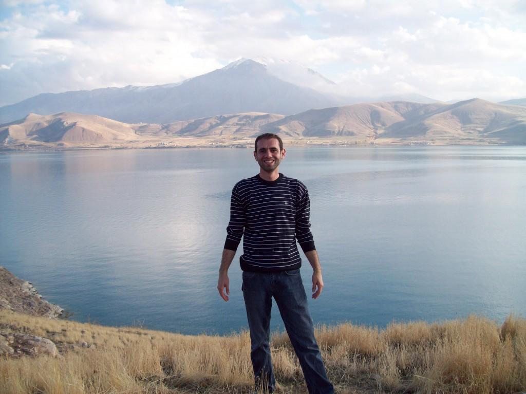 Van Akdamar Adasından Van Gölü ve Manzarası