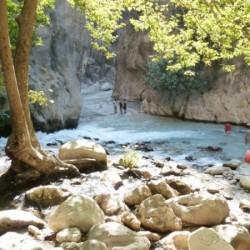 Serin Suları Olan Saklıkent Kanyonu