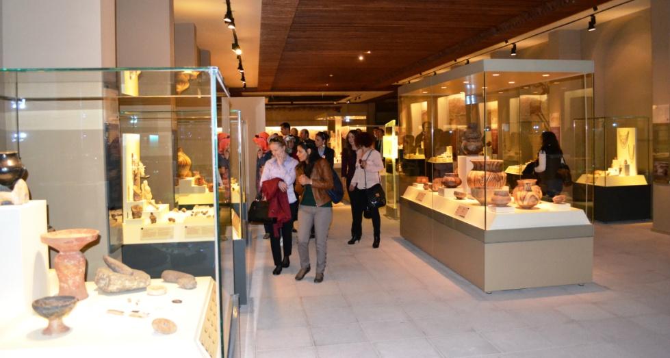 Anadolu Medeniyetleri Müzesi Ziyaretçileriyle