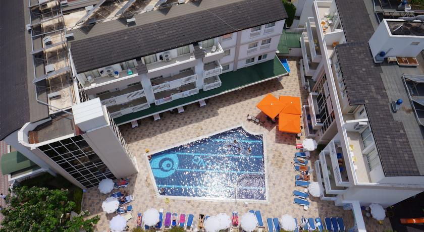 Viking Apart Otel Kuşbakışı Görüntüsü