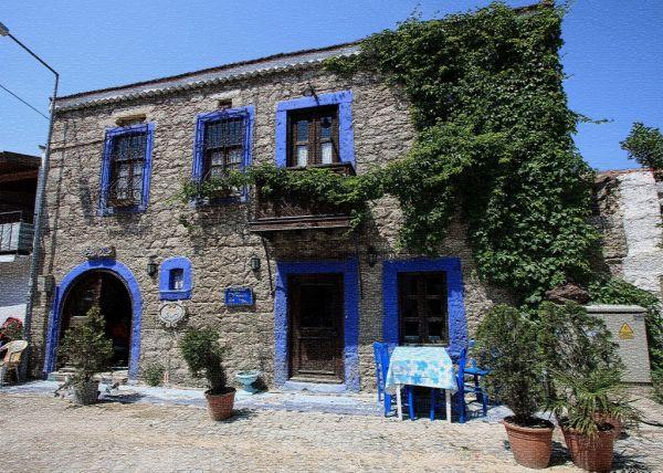 Alaçatı Tarihi Klasik Taş Evleri