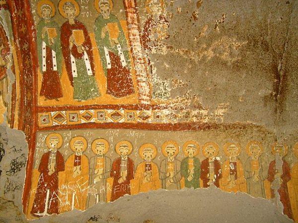 Yılanlı Kilise, Ihlara Vadisi İçerisinde Yer Almaktadır.