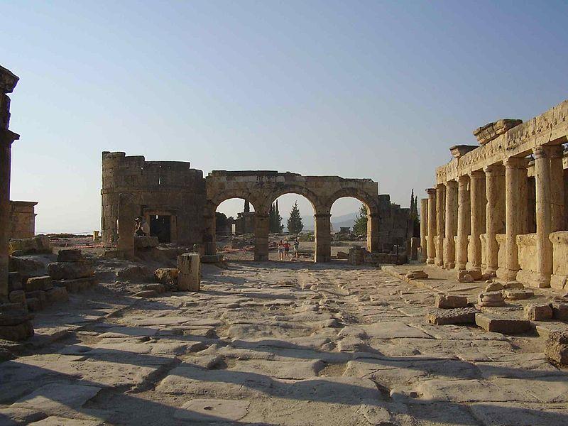 Denizli Hierapolis Antik Kenti
