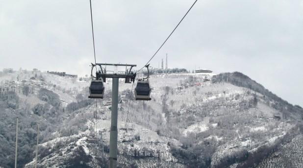 Boz Tepe'de Kış Manzarası