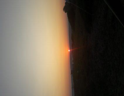 Erikli Mecidiye Sahili Güneş Batışı