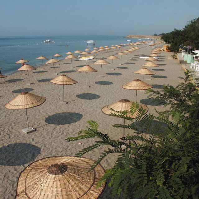 Semizkum Mocamp Plajı