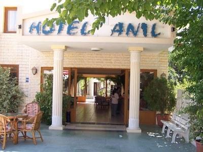 Anıl Otel Girişi