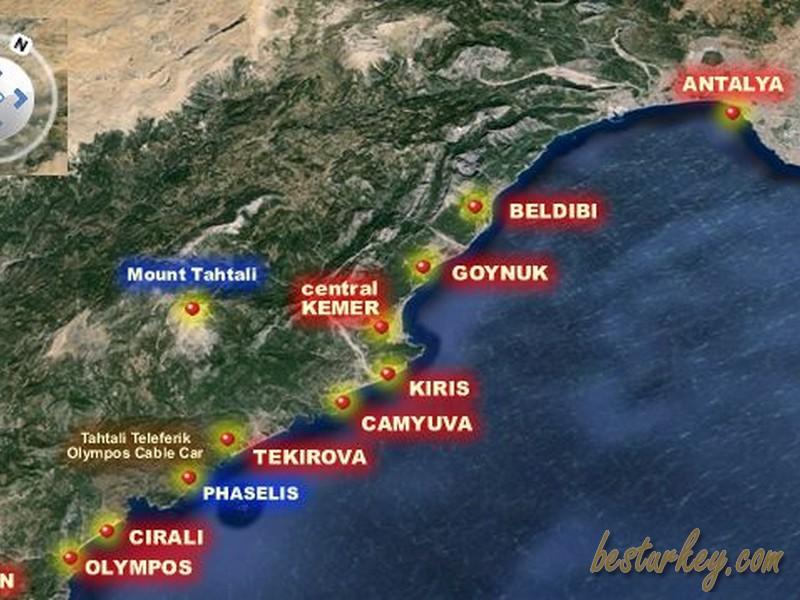 Antalya Kemer Plajları