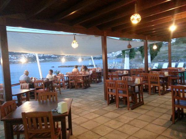 Koyunbaba Pansiyon ve Restaurant Manzarası