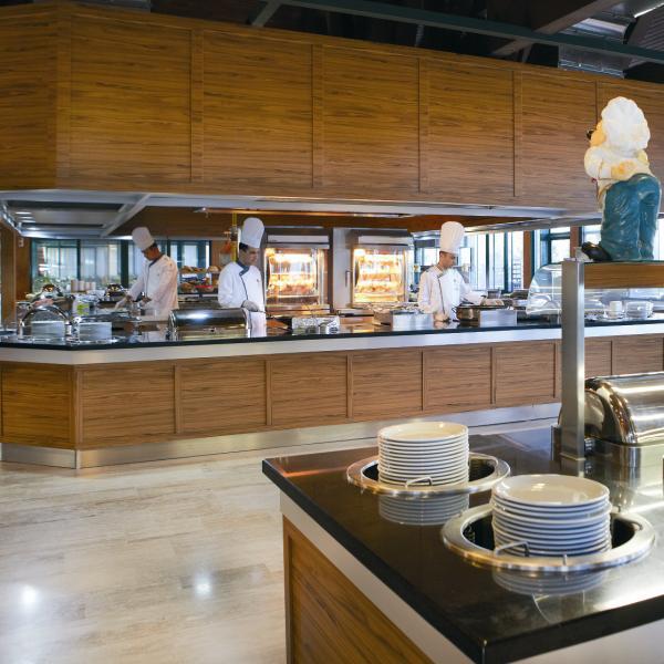 Meryan Otel Alanya Yemek Bölümü