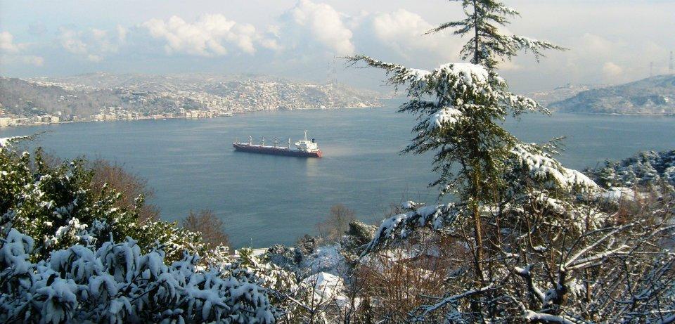 İstanbul'un Kış MAnzarası