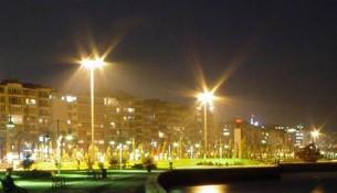Kordon Boyunda Gece Manzarası